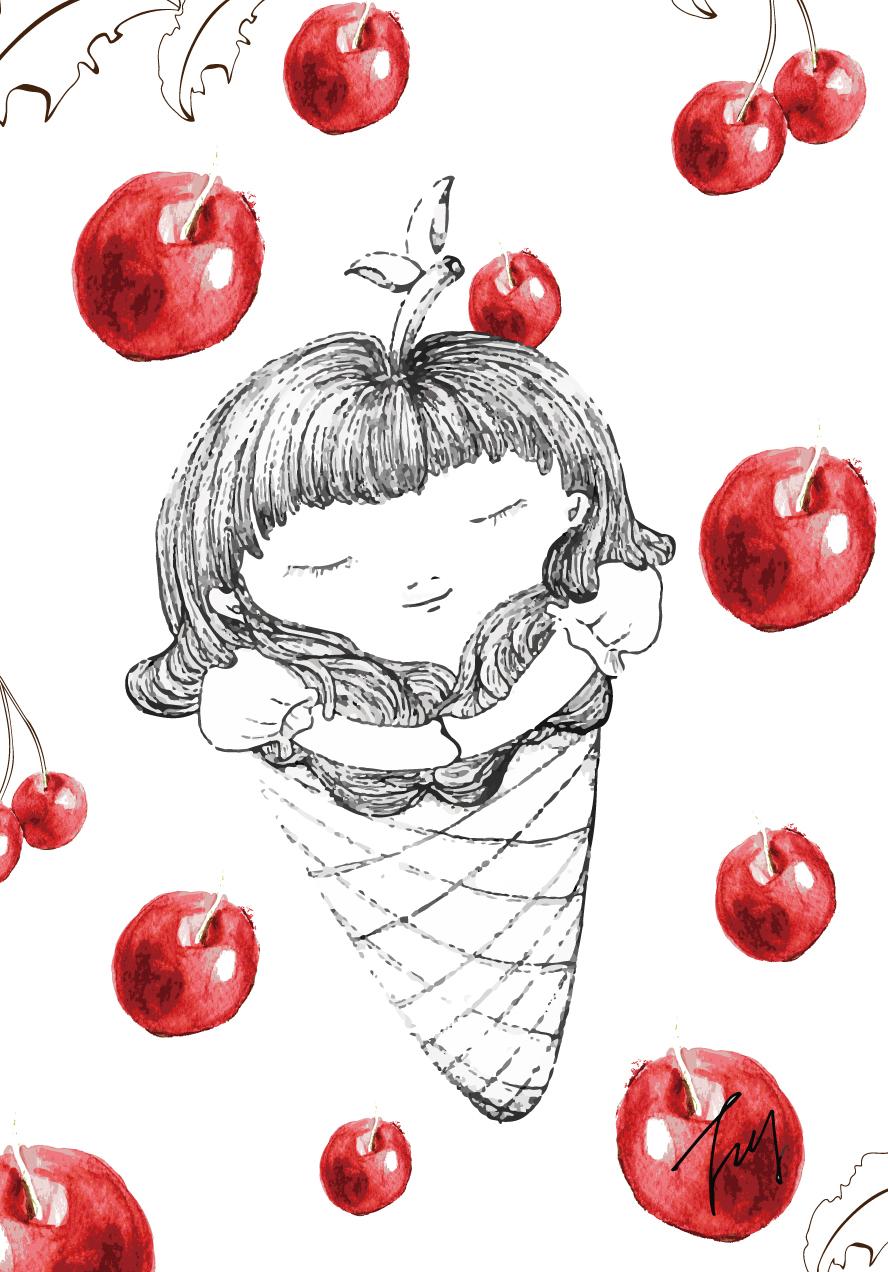 u are the apple of my ice