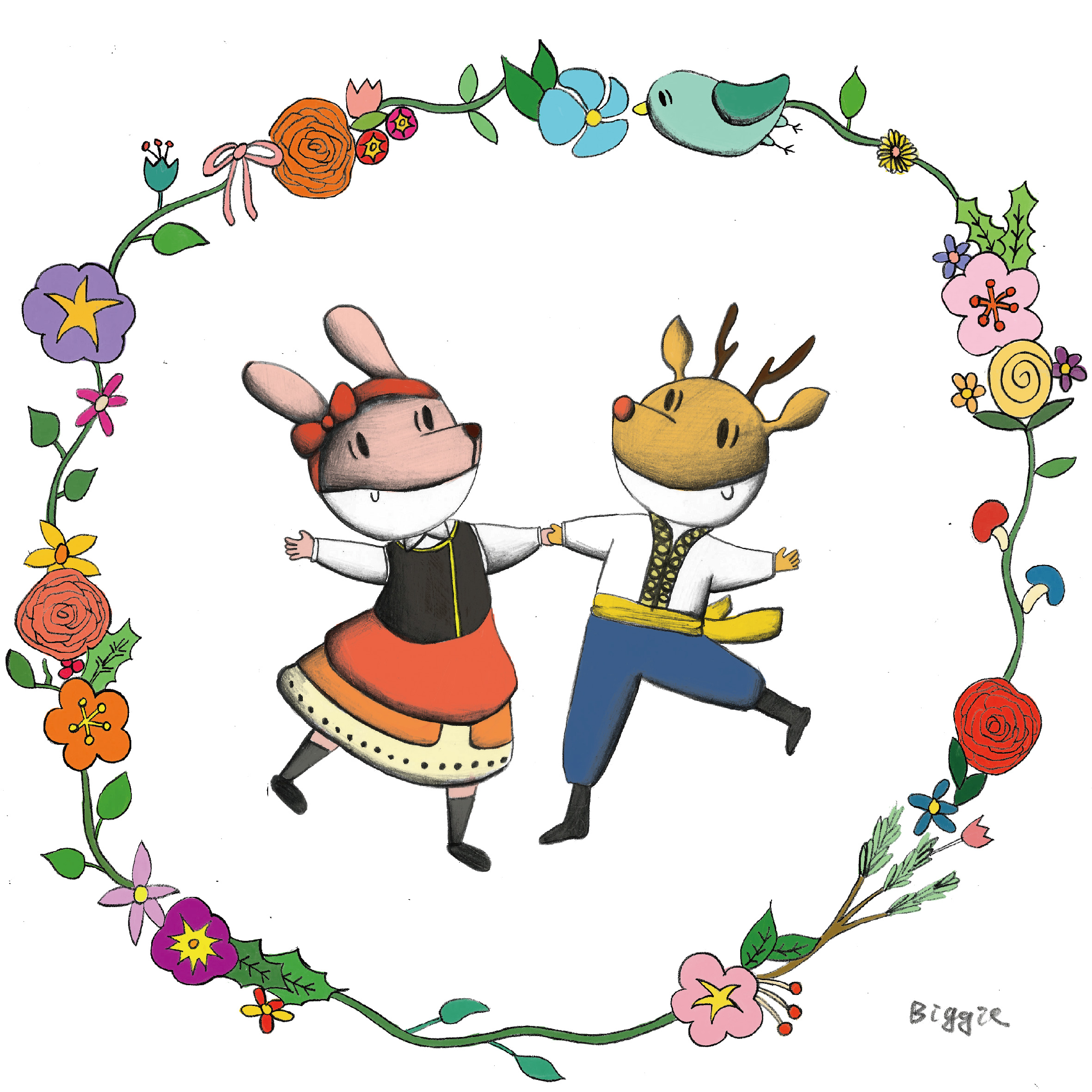 雙人土風舞