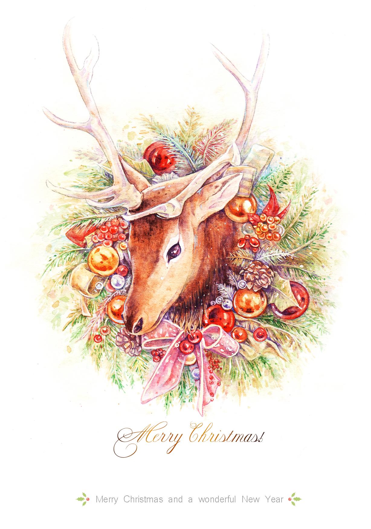 聖誕麋鹿Christmas Elk