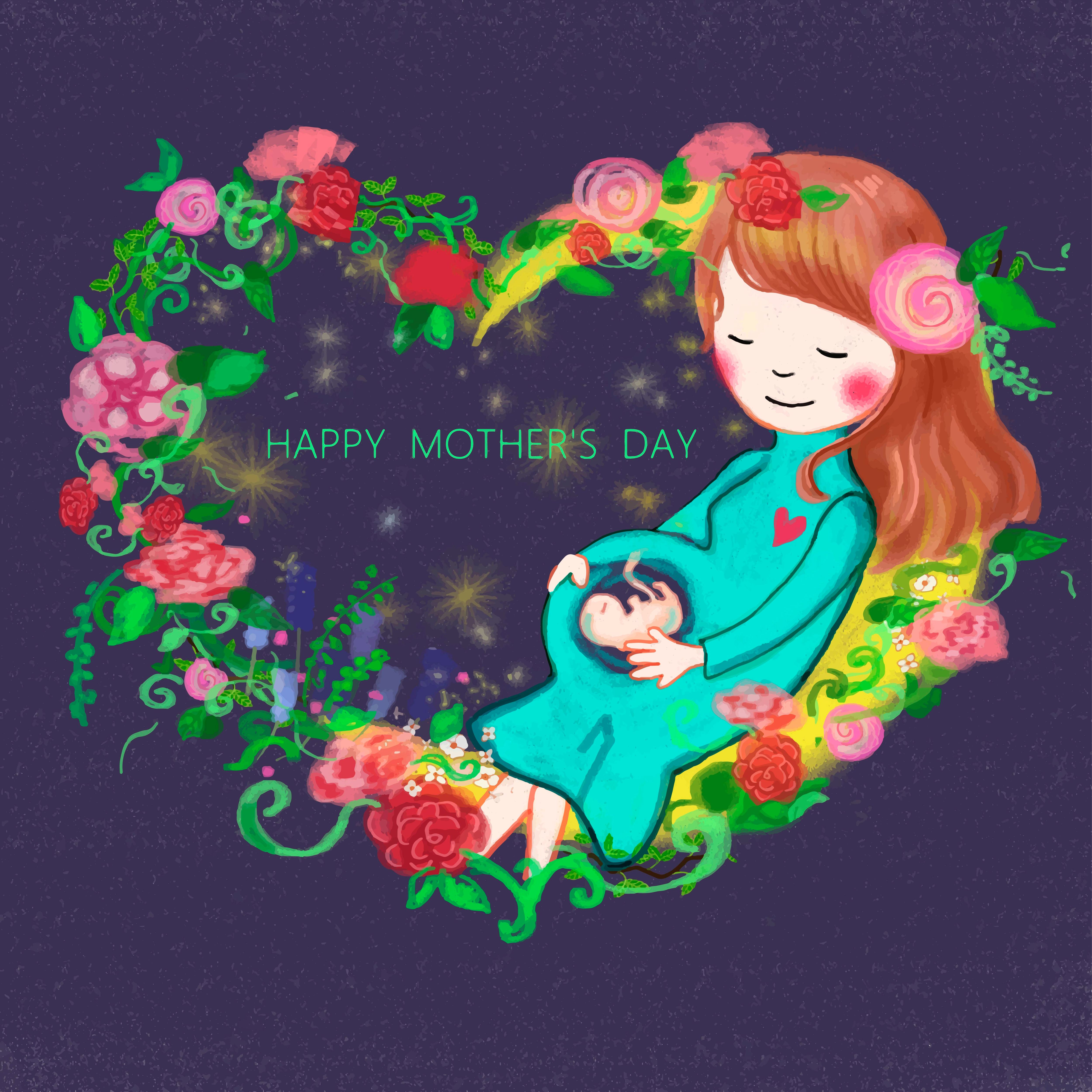 母親的擁抱