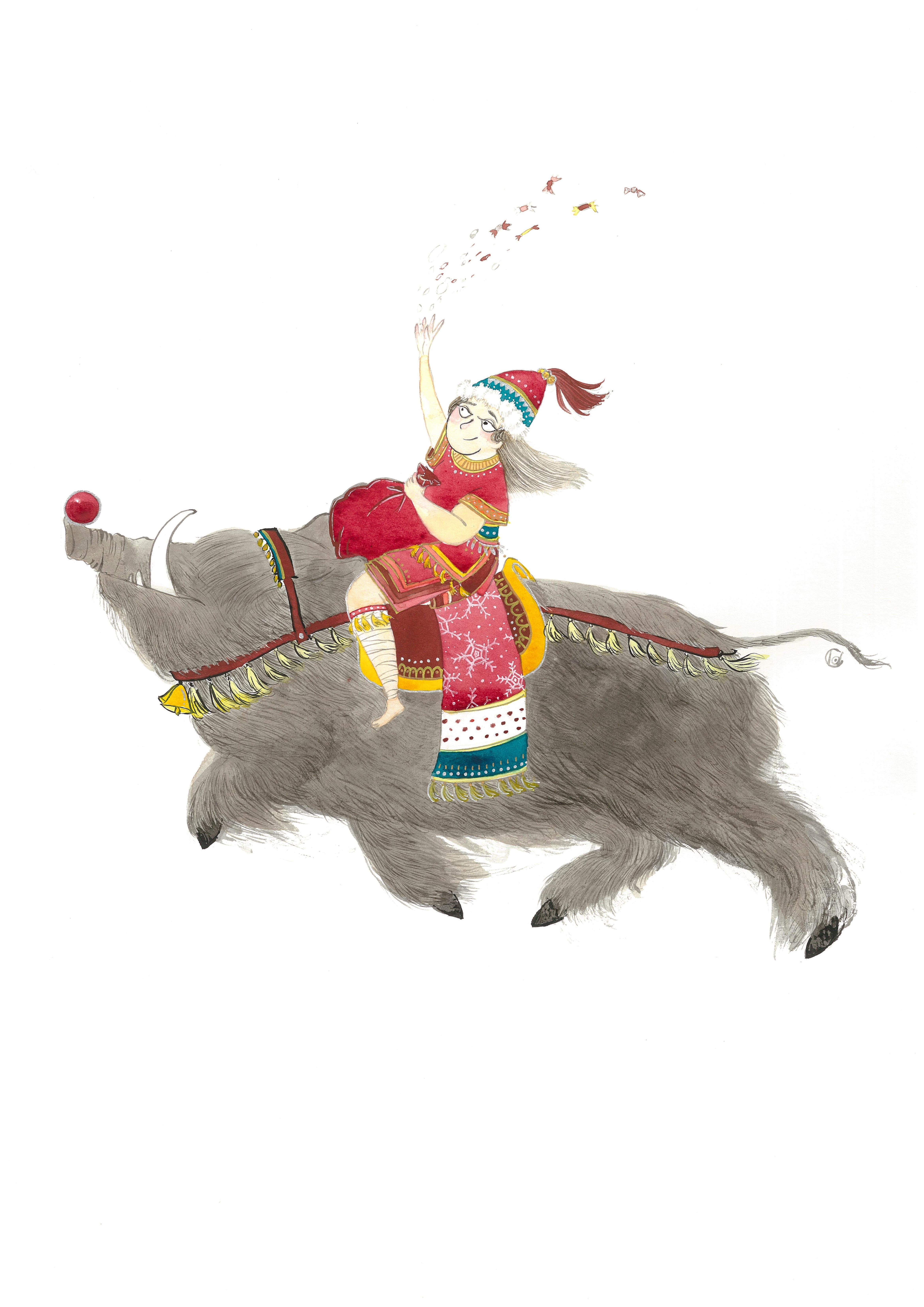 《拿顆聖誕糖吧!》