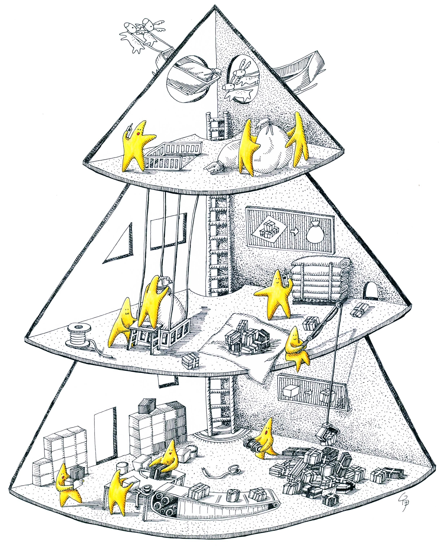 聖誕樹的秘密