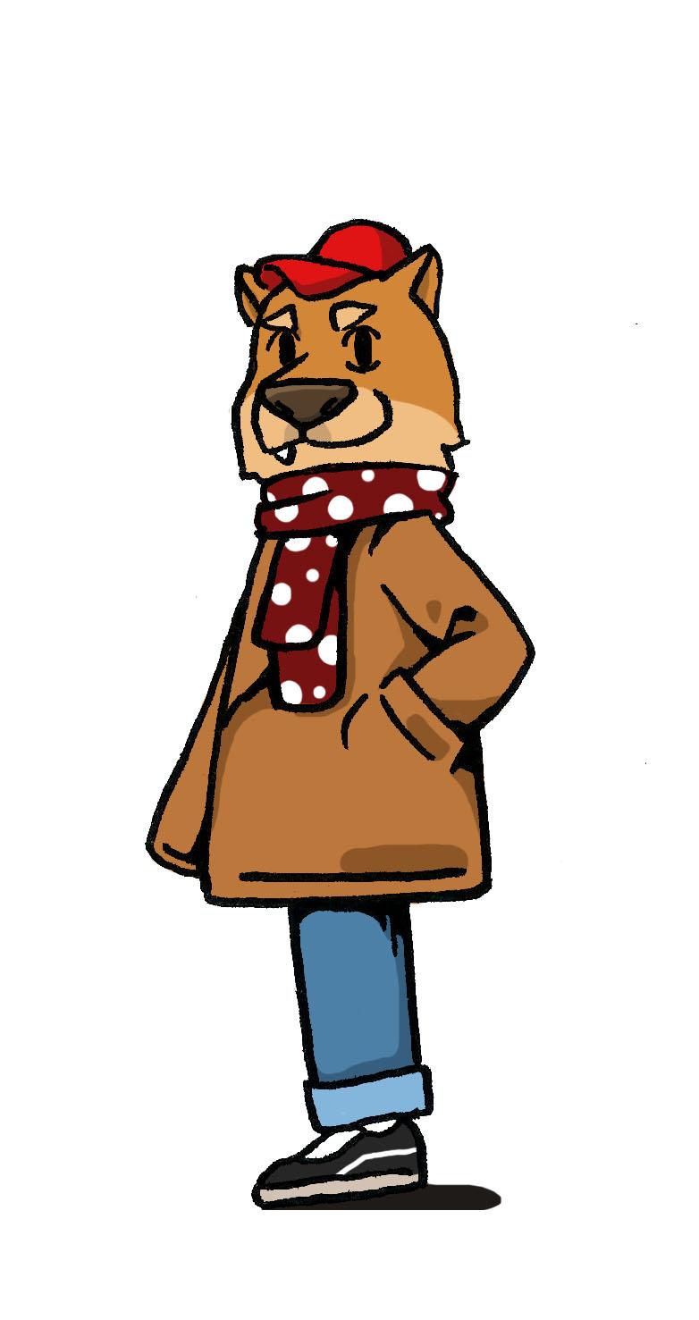穿大衣的蕭滴狗