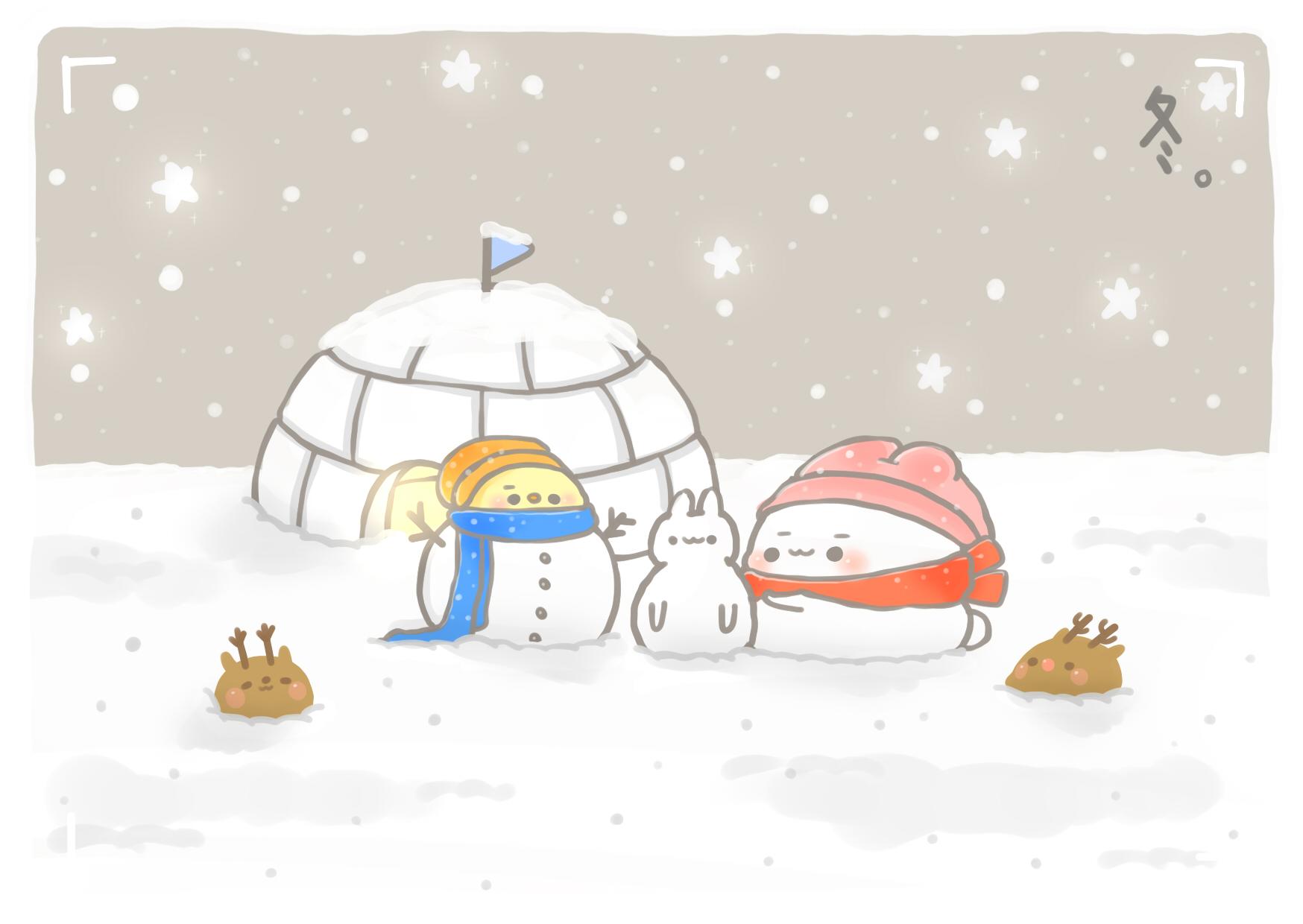 四季係列-冬日飄雪